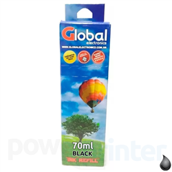 Botella de Tinta Epson 664 B negra 70ml  GLOBAL