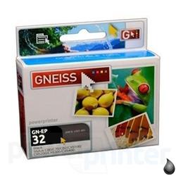 Cartucho de Tinta EPSON T032B (T032120) negro alternativo GNEISS