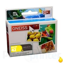 Cartucho de Tinta Epson T042Y (T042420) amarillo alternativo GNEISS