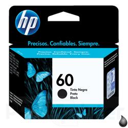 Cartucho de Tinta HP 60 B (CC640WN) negro ml original HP