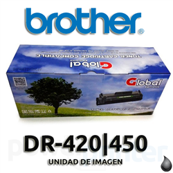 Unidad de Imagen DRUM Brother DR-420/450 alternativo (12.000 copias) Global