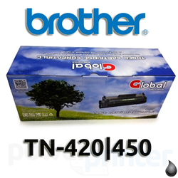 Cartucho tóner Brother TN-420/450 negro alternativo (2.600 copias) GLOBAL