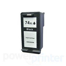 Cartucho de Tinta HP 74 XL (CB336) negro 30ml alternativo GLOBAL